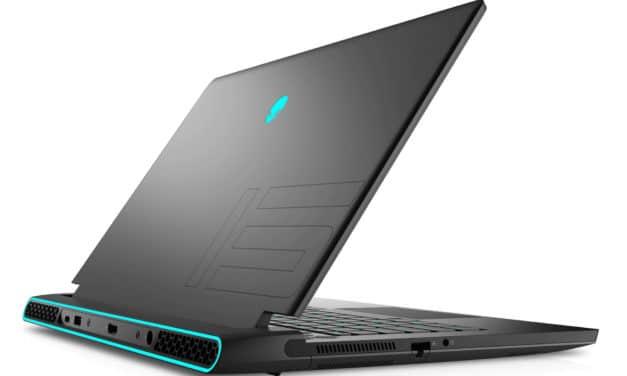 "Dell Alienware m15 R6, PC portable 15"" QHD 240Hz DCI-P3 gamer créateur G-Sync Octo Core i9 RTX 3070 RAM 32 Go TB4 (2439€)"