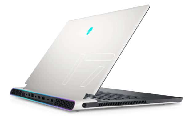 "Dell Alienware x17 R1, PC portable 17"" 360Hz G-Sync gamer créateur RTX 3070 Tiger Lake-H TB4 (2519€)"