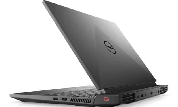 "<span class=""promo"">Promo 1349€</span> Dell G15 15 5510, PC portable 15"" 165Hz sRVB gamer créateur RTX 3060 Octo Core Intel TB3"