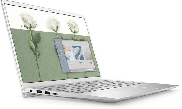 """Dell Inspiron 13 5301, Ultrabook 13"""" argent polyvalent pas cher léger fin et rapide avec Tiger Lake Iris Xe (649€)"""