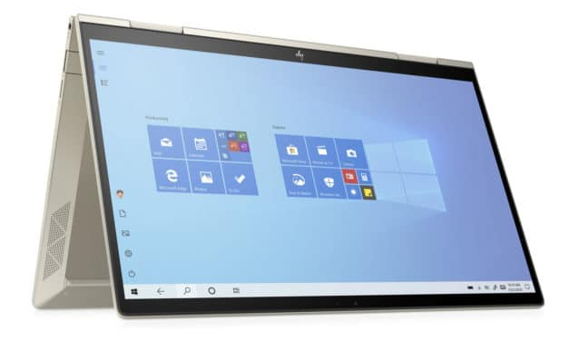 """HP Envy x360 13-bd0002nf, Ultrabook 13"""" OLED DCI-P3 tactile Tablette polyvalent Tiger Lake Iris Xe TB4 design Or nomade 8h (1499€)"""