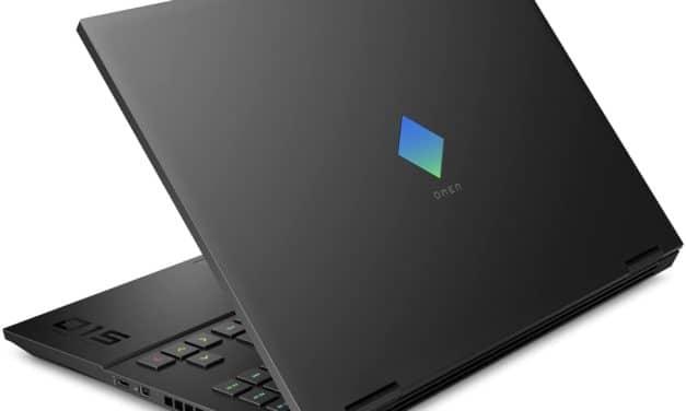 "HP Omen 15-ek1004sf, PC portable 15"" 144Hz gamer RTX 3060 créateur noir TB3 (1449€)"