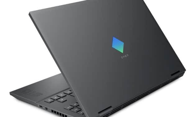 """HP Omen 15-en1037nf, PC portable 15"""" 144Hz gamer créateur performant RTX 3070 AMD Octo Core (1576€)"""