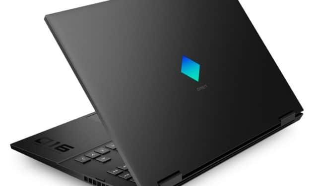 "HP Omen 16-c0037nf, PC portable 16"" QHD 165Hz sRGB gamer créateur performant RTX 3070 Octo Core AMD (2199€)"