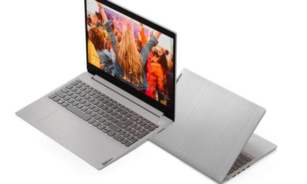 """Lenovo IdeaPad 3 15ALC6-784 (82KU00KMFR), PC portable 15"""" polyvalent argent léger fin et rapide AMD (829€)"""