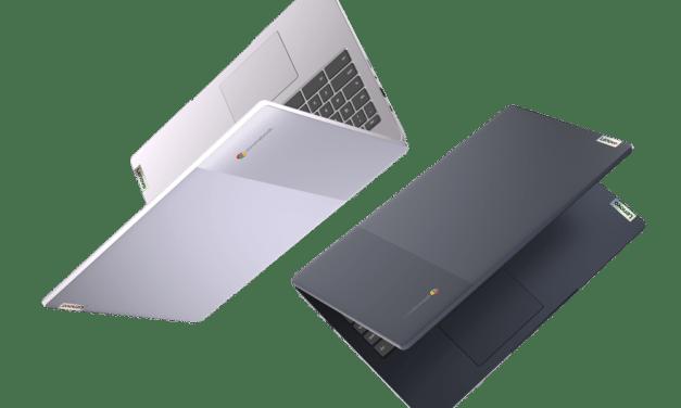 """Lenovo IdeaPad 3 CB 15IJL6, PC portable 15"""" Chromebook d'entrée de gamme nomade 10h bleu ou argent avec Google Chrome OS et Intel Jasper Lake"""