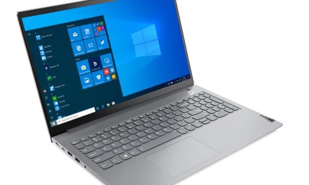 "Lenovo ThinkBook 15 G2 ITL (20VE0006FR), Ultrabook 15"" Pro argent fin léger rapide aluminium Tiger Lake Iris Xe TB4 (1016€)"