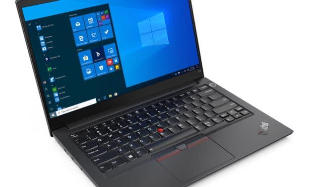 "<span class=""promo"">Promo 945€</span> Lenovo ThinkPad E14 Gen 3 (20Y7003RFR), PC portable 14"" Pro aluminium noir polyvalent AMD nomade 8h rapide léger et fin"