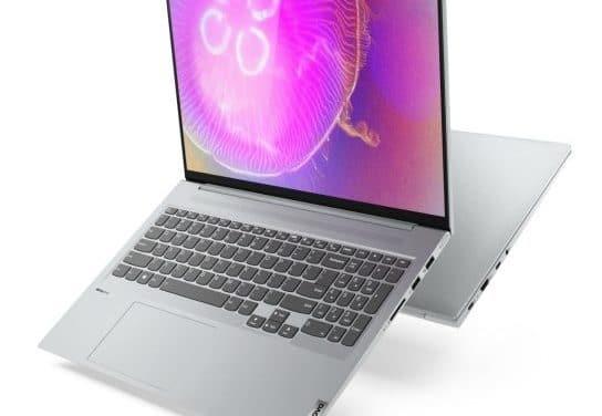 """Lenovo Yoga Slim 7 Pro, PC portable 16"""" 2.5K 120Hz multimédia AMD Cezanne et RTX NVIDIA nomade 16h fin et léger sous Windows 11"""