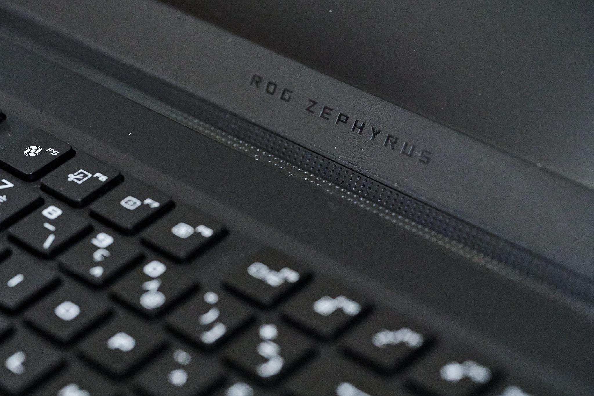 Test PC portable gamer Asus Zephyrus S17