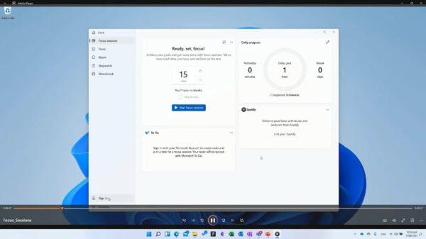 Windows 11 Media Player