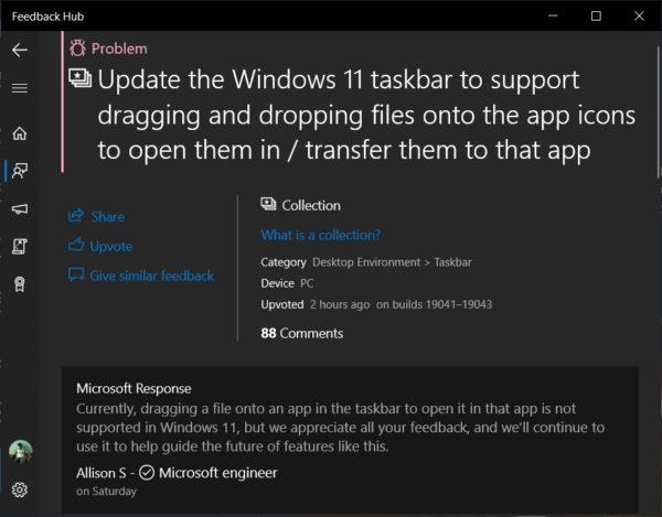 Windows 11 disparition fonctions barre des taches