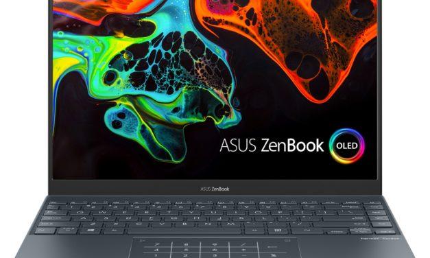 Asus Zenbook UX325JA-3, ultrabook 13 pouces avec écran OLED, léger et endurant (722€)