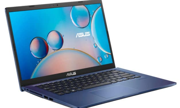 """<span class=""""nouveau"""">Nouveau 639€</span> Asus S416JA-EB737T, Ultrabook 14"""" bleu léger fin et rapide avec SSD et USB-C"""