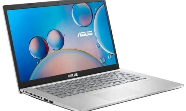 """Asus Vivobook R415JA-EB1065T, Ultrabook 14"""" argent polyvalent léger rapide et fin Intel (789€)"""