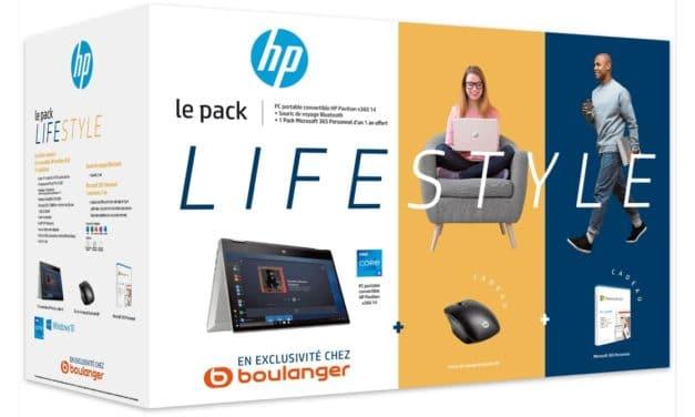 """<span class=""""promo"""">Promo 999€</span> HP Pavilion x360 14-dy0026nf, Ultrabook 2-en-1 tactile 14"""" Tablette polyvalent Tiger Lake léger rapide 7h + Pack Lifestyle + 75 euros remboursés"""