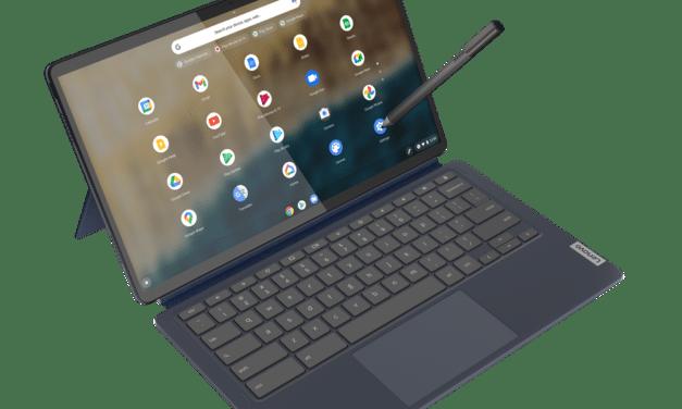 """Lenovo IdeaPad Duet 5 CB 13Q7C6, Chromebook Tablette avec écran détachable 13"""" OLED DCI-P3 tactile nomade 15h avec Qualcomm Snapdragon"""