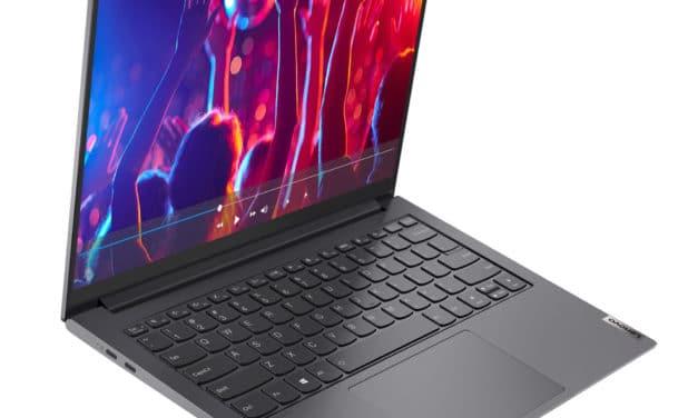 "<span class=""promo"">Promo 1279€</span> Lenovo Yoga Slim 7 Pro 14ACH5 (82MS002LFR), PC portable 14"" 2.8K 90Hz sRGB Windows 11 léger performant Ryzen 9 SSD 1 To"