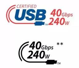 USB-C et USB 4 - nouveaux logos pour la connectique, y compris les câbles
