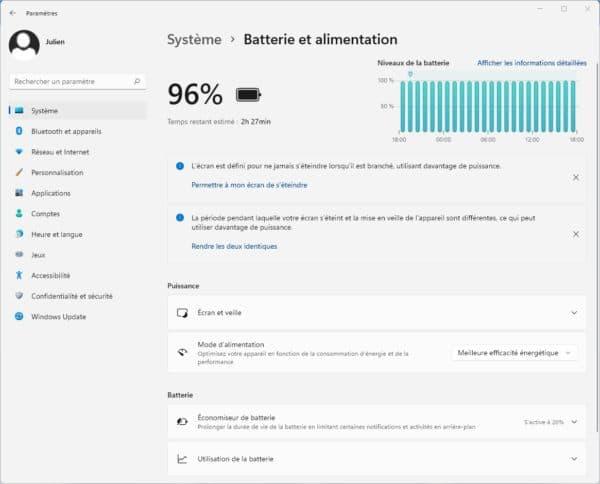 Windows 11 Top 5 nouveaute autonomie