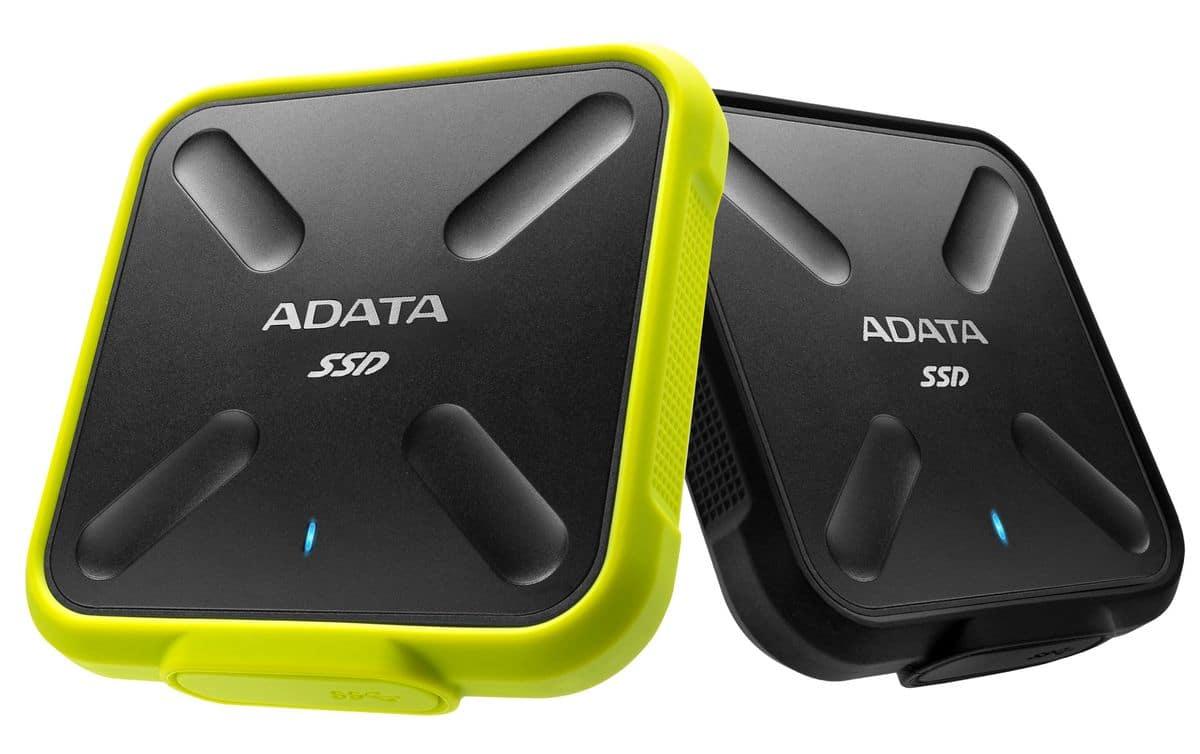ADATA SD700, nouveau SSD externe robuste jusqu'à 1 To de capacité