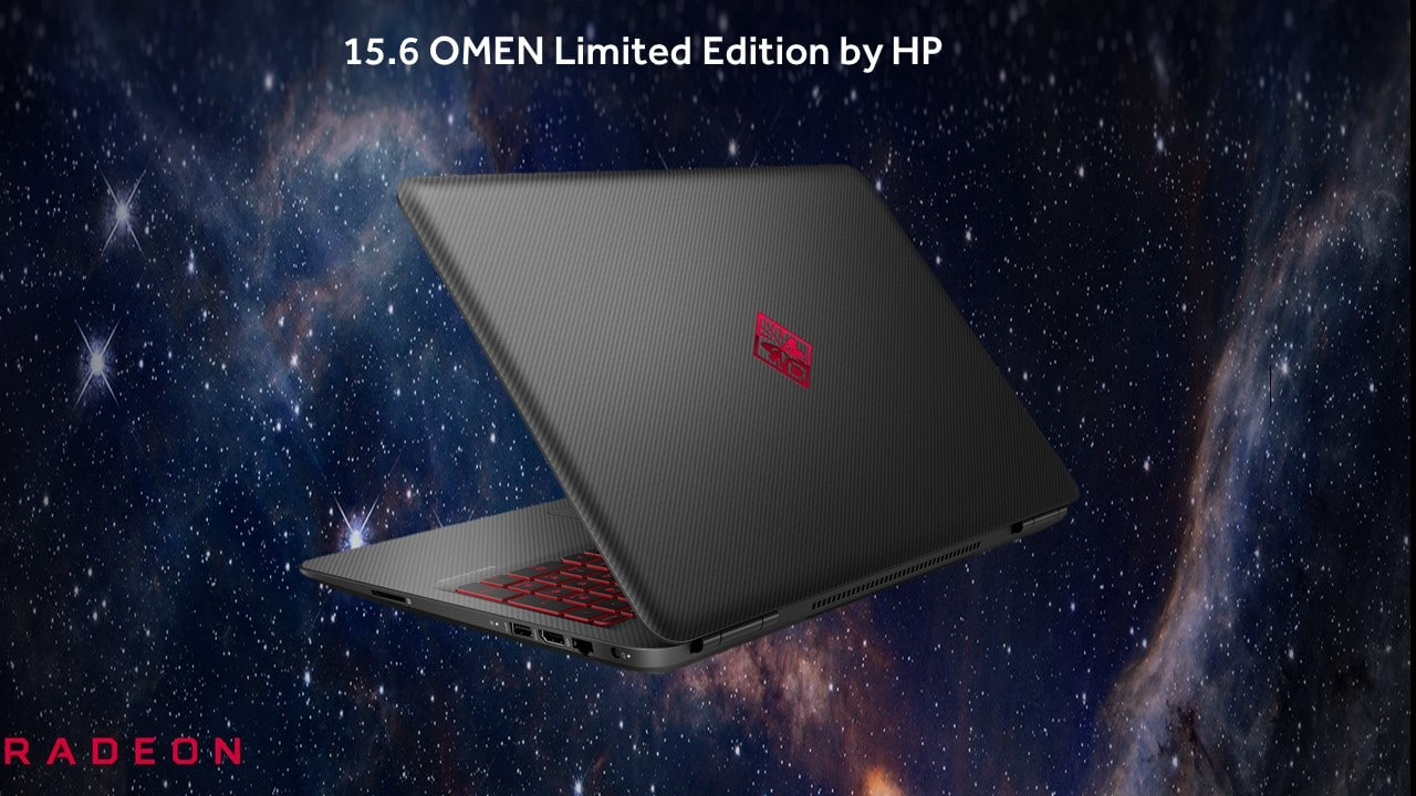 AMD Radeon RX 460 Polaris dans le nouvel HP Omen 15 Limited Edition