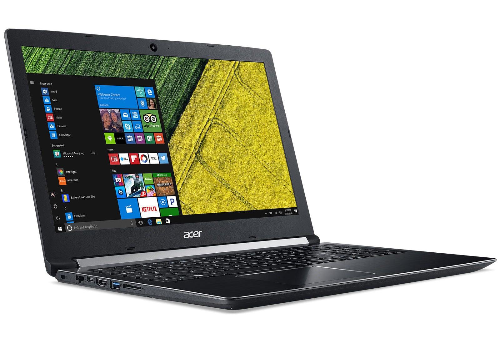 Acer Aspire A515-51-34LE, PC portable 15 pouces Full IPS SSD256 Core i3 à 549€