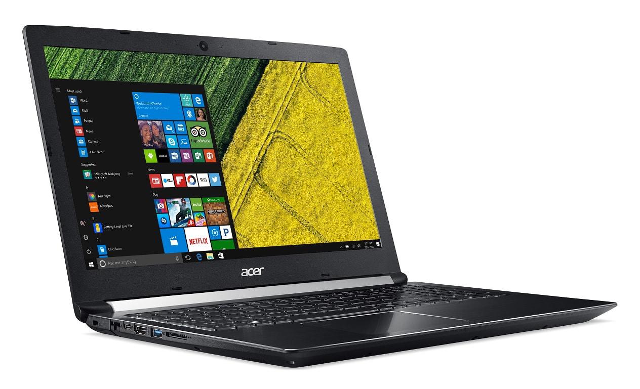 """Acer Aspire A715-71G-57JW, PC portable 15"""" GTX 1050 Quad 8 Go (636€)"""