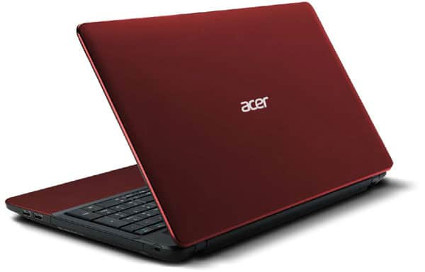 Acer Aspire E1 531 B968G1TMnrr, 15.6″ rouge à 409€ : Pentium