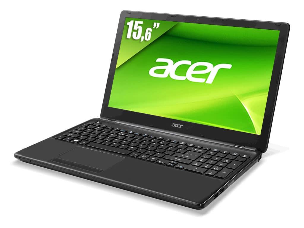 "Acer Aspire E1-572G-54208G1TMnkk vente flash à 599€, 15.6"" mat avec Core i5 Haswell, 8 Go, HD8750M, 1000 Go"