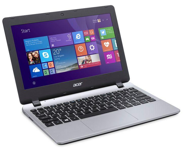 """Acer Aspire E3-112-C2R0, ultraportable 11.6"""" mat avec Celeron Quad Core Bay Trail et disque dur de 1000 Go à 269€"""