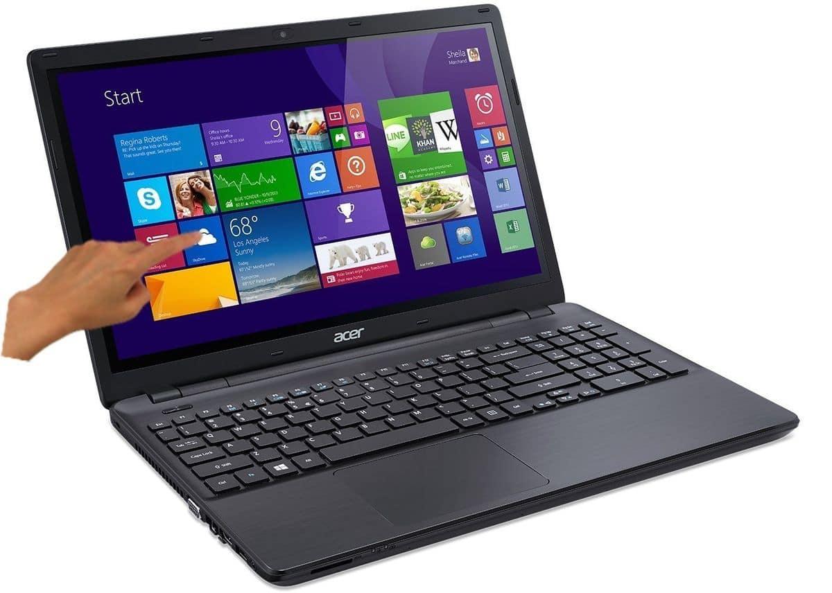 Acer Aspire E5-511P-P0YX à 429€, PC portable 15 pouces tactile