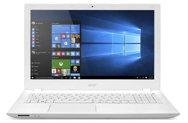 Acer Aspire E5-573G-56EY à 599€, PC portable 15 pouces Full HD mat i5 blanc