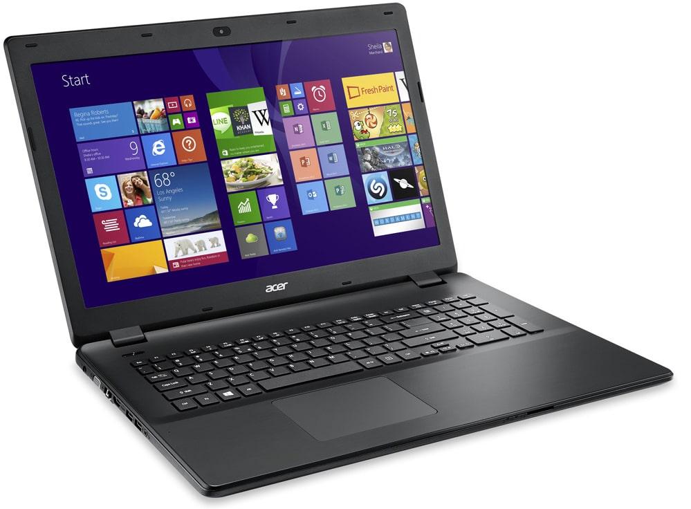 Revue de presse des tests publiés sur le Web (Acer Aspire E17 E5-721-69FX)
