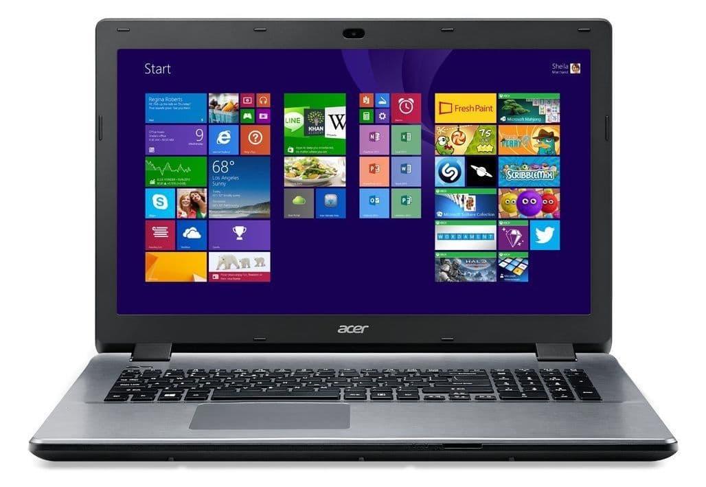 Acer Aspire E5-771G-39GL à 499€, PC portable 17 pouces GeForce 840M
