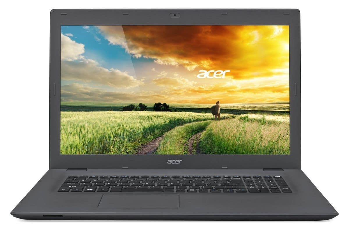 Acer Aspire E5-772G-53Z2 à 599€, PC portable 17 pouces Core i5-4210H