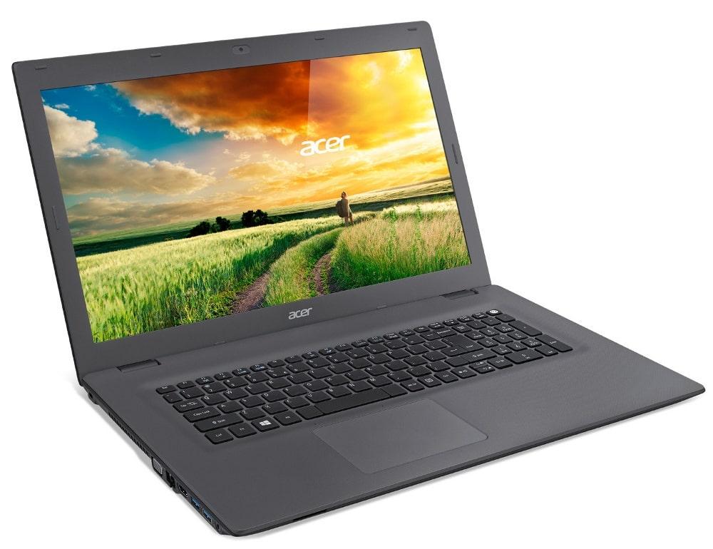 Acer Aspire E5-773G-54QQ, PC portable 17 pouces noir Core i5 (469€)