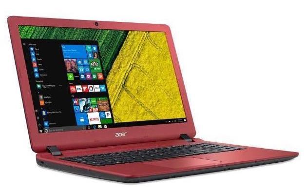 Acer Aspire ES1-523-29KW, PC portable 15 pouces bureautique Rouge à 319€