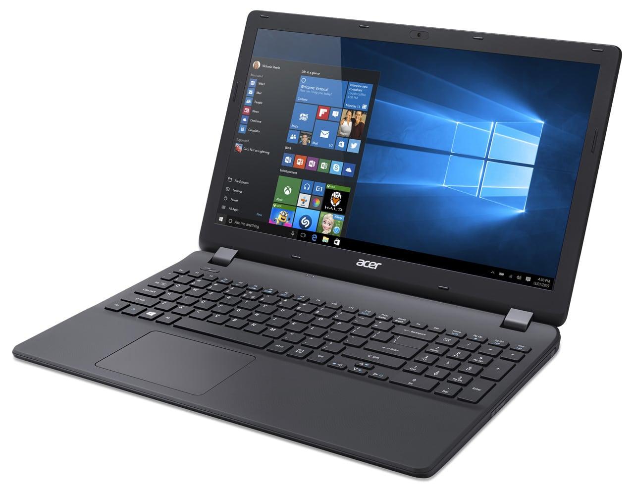 Acer Aspire ES1-531-C18Z à 349€, PC portable 15 pouces bureautique noir