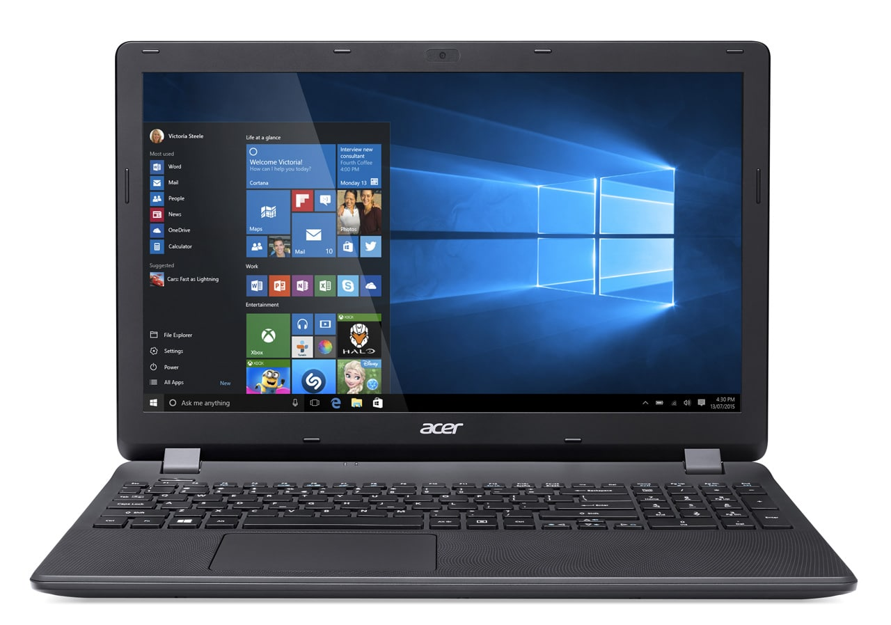 Acer Aspire ES1-531-P0U6 à 349€, PC portable 15 pouces bureautique noir