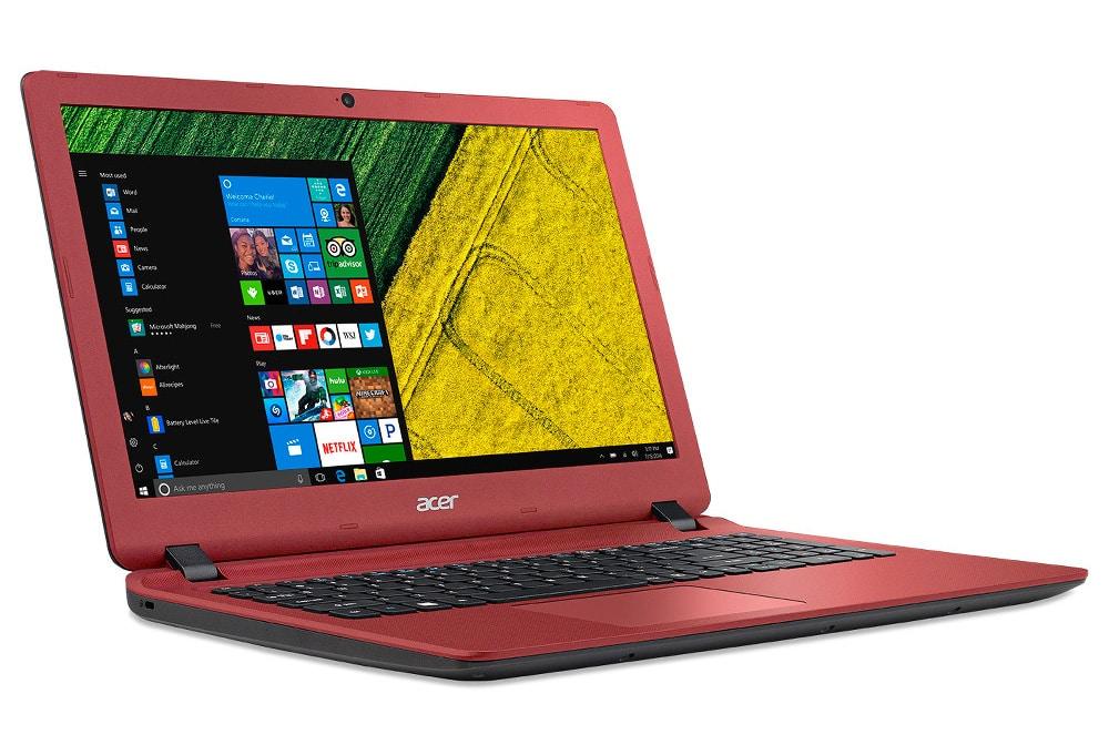 Acer Aspire ES1-571-34G2 à 469€, PC portable 15 pouces mat rouge Core i3