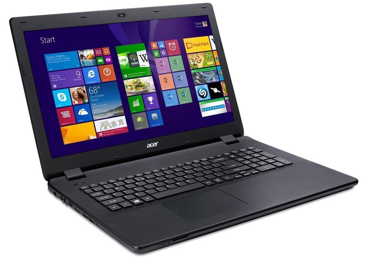 "Acer Aspire ES1-512-C7QG, portable bureautique 15.6"" à 299€"