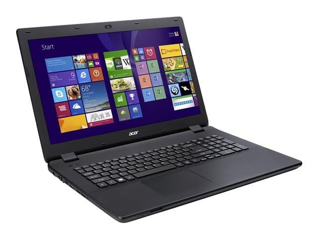"""Acer Aspire ES1-711-P4JE, 17.3"""" avec Pentium Quad Core Bay Trail et disque dur de 500 Go à 374€"""