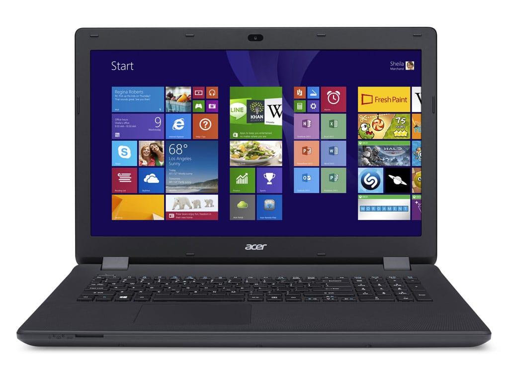 Acer Aspire ES1-711G-P11R promo 329€, PC portable 17 pouces pas cher