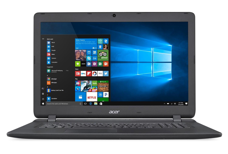 Acer Aspire ES1-732-C2MR, PC portable 17 pouces Apollo Lake noir (320€)