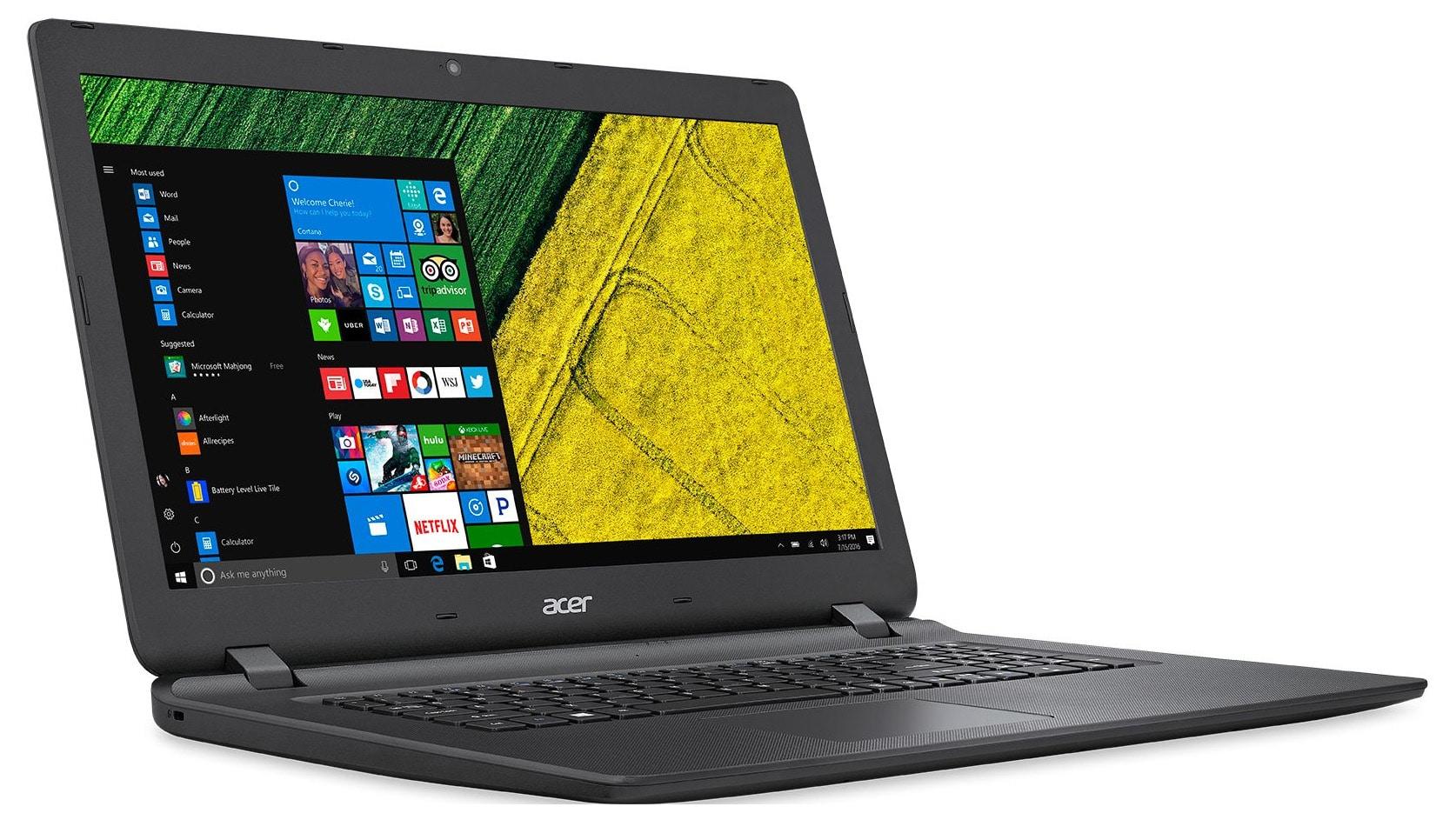 acer aspire es1 732 p8js pc portable 17 pouces apollo lake 8 go 1 to noir 479 laptopspirit. Black Bedroom Furniture Sets. Home Design Ideas