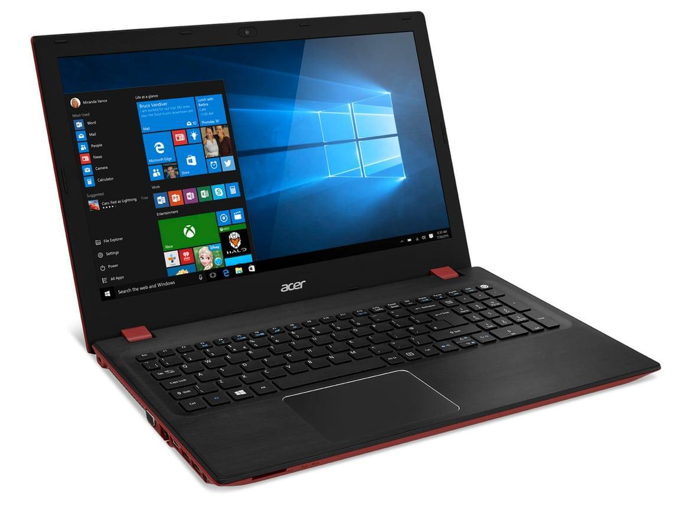 """<span class=""""tagtitre""""><del>Soldes 449€</del> - </span>Acer Aspire F5-571-5073, PC portable 15 pouces rouge/noir Core i5"""