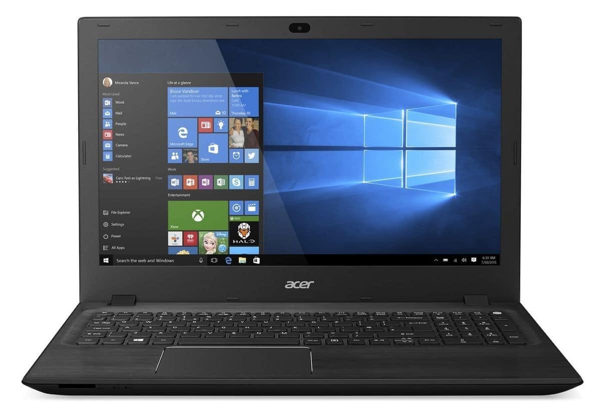 Acer Aspire F5-571G-70AR à 699€, PC portable 15 pouces mat polyvalent i7 940M