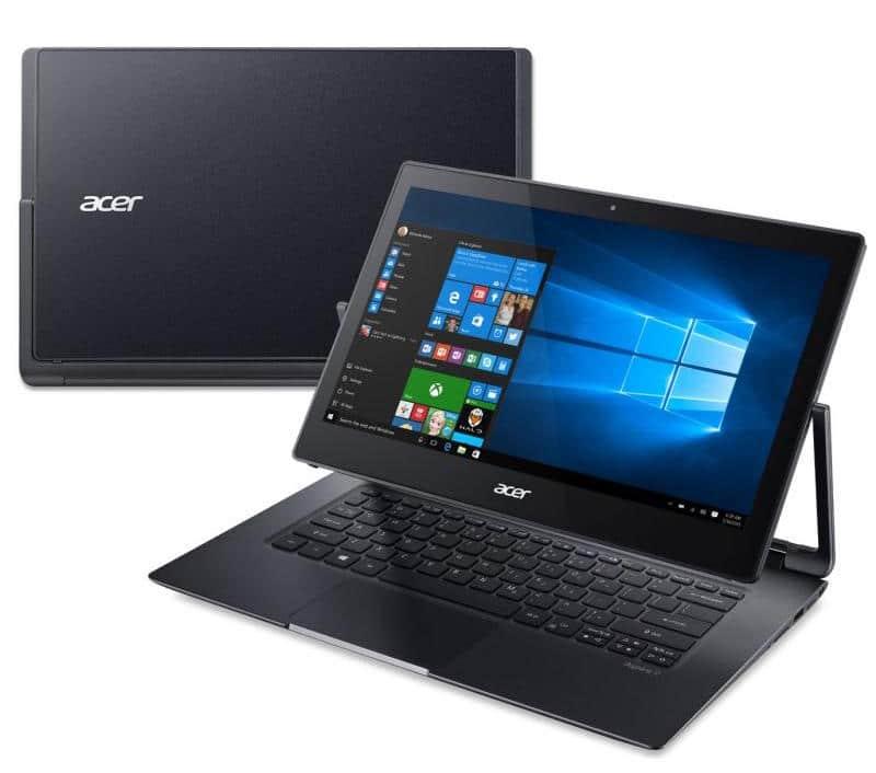 Acer Aspire R7-372T-53MV, ultrabook 13 pouces convertible SSD i5 Full IPS à 999€