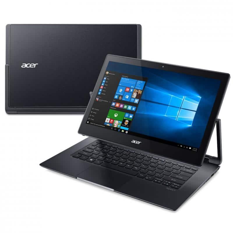 "<span class=""tagtitre"">Promo 999€ - </span>Acer Aspire R7-372T-702H, ultrabook 13 pouces tablette SSD 512"